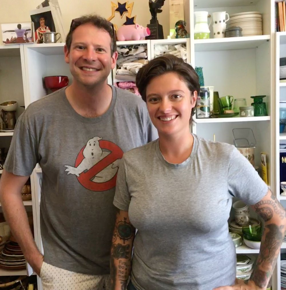 Interviewing Jack Monroe for 'Tip The Scales', August 2018