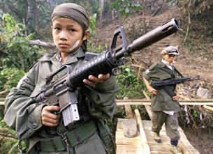 Little girls should never be forced to be child soldiers