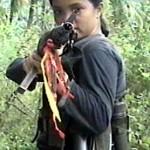 Philippine child warrior