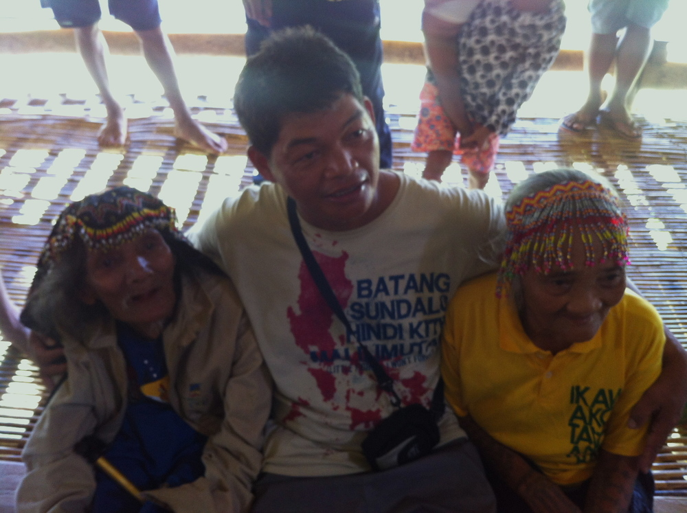 Datu Kalambuan with his father & mother