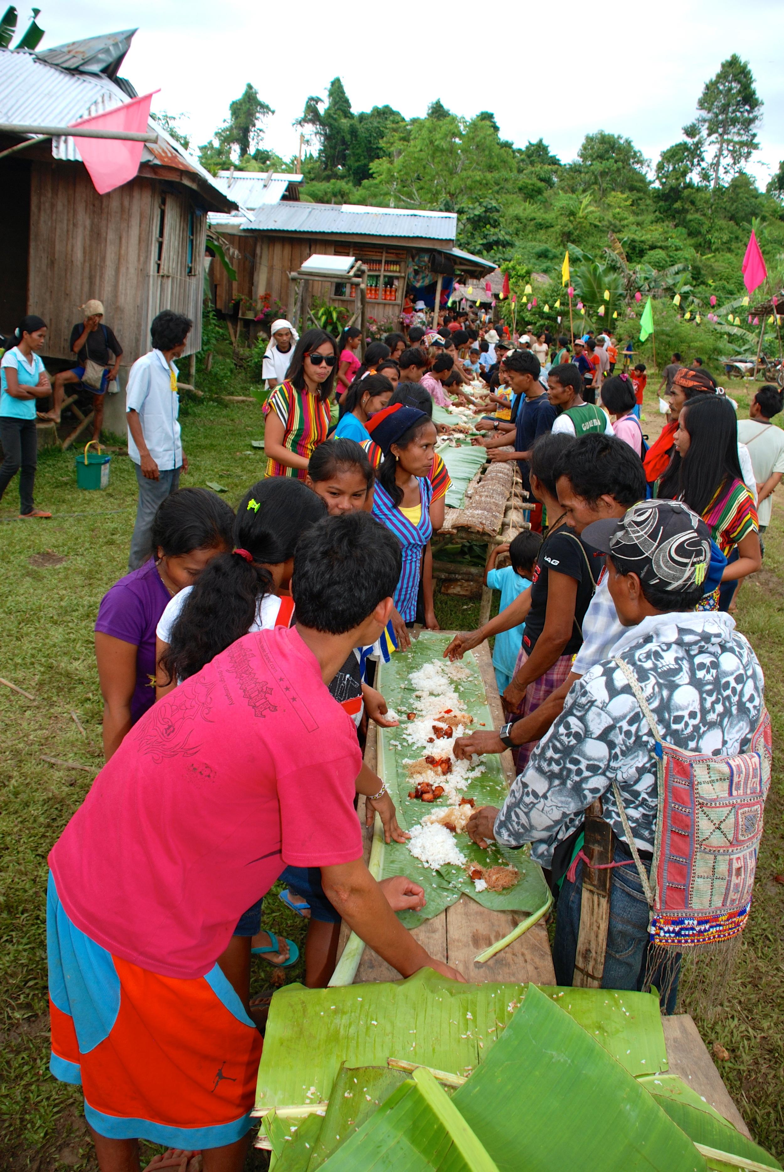 Mindanao tribal feast