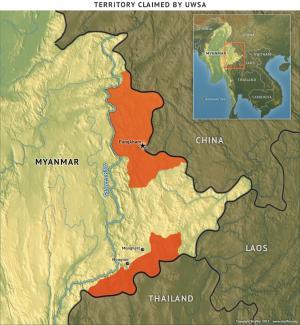 United Wa State Army Territory