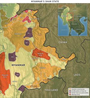 Myanmar's Shan State