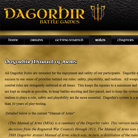 Dagorhir Rules
