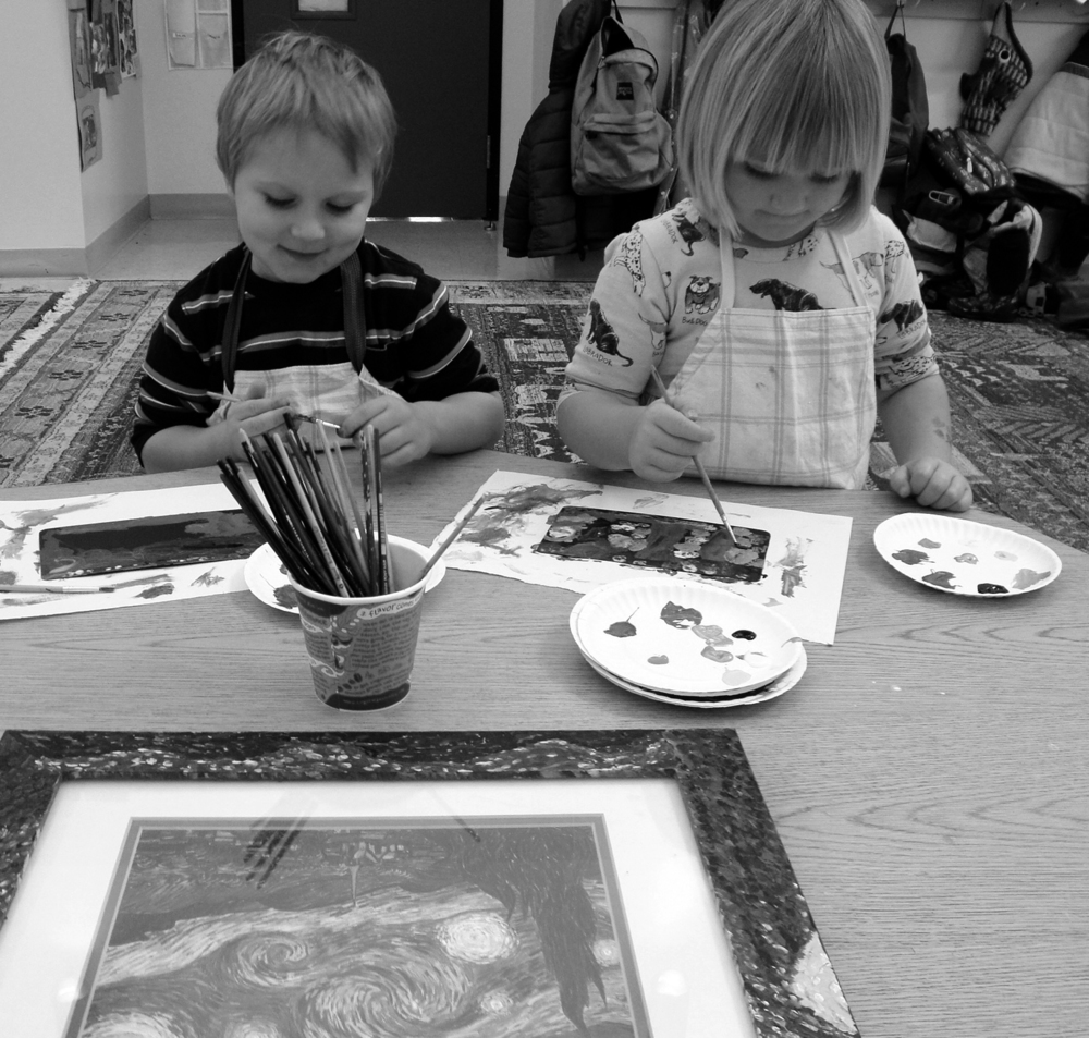 van Gogh Starry Night 2012 Bennett and Lucy gray.JPG