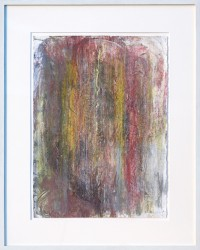 "John Ruggieri ""Cinevista"" mixed Media on paper - $1800 Height: 30"" Width: 22"""