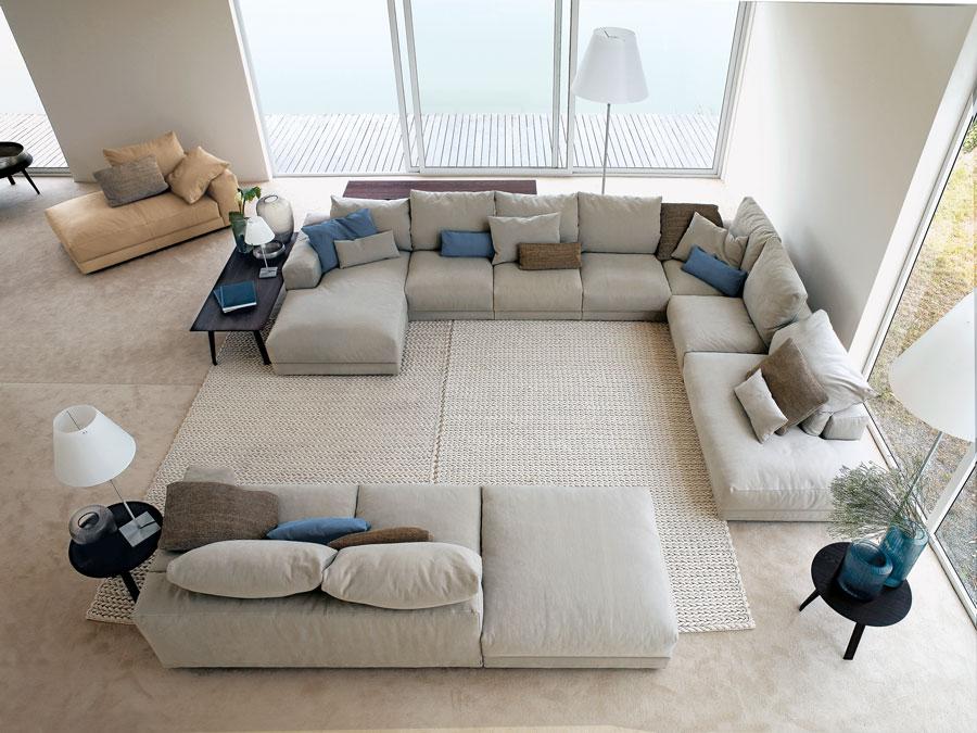 Swan italian furniture cambridge boston america dural for Divani componibili moderni