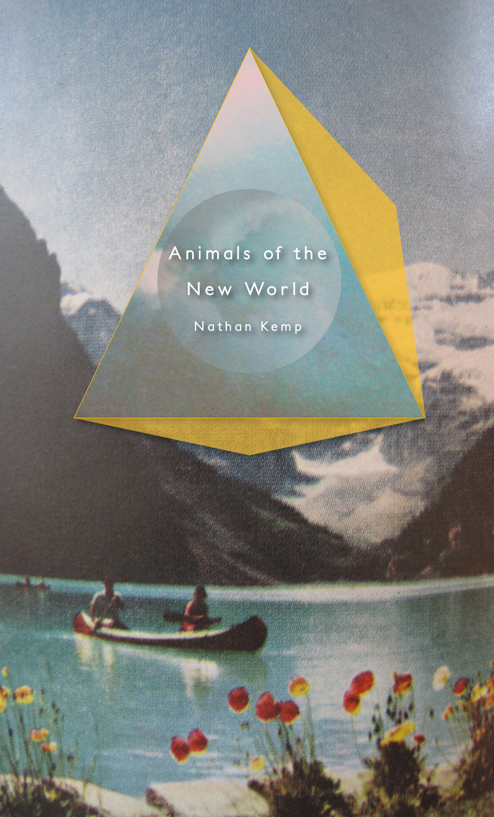 Cover art + interior design for Nathan Kemp's  Animals of the New World  ( H_NGM_N Books , 2015.) Read in full  here .