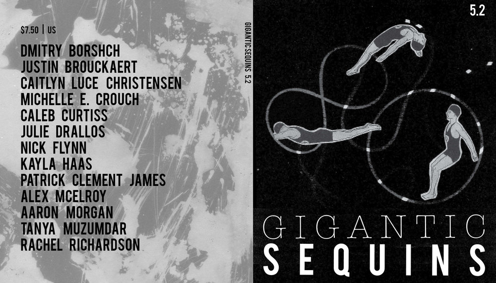 Cover art + interior layout for   Gigantic Sequins: A Literary Arts Journal  ,  Issue 5.2 (July 2014).