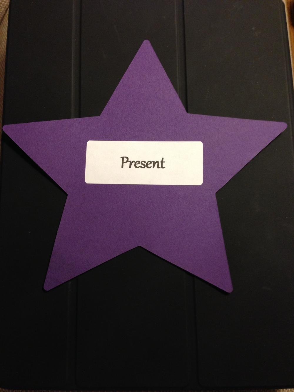 Pastor Leanne's StarWord - Present.