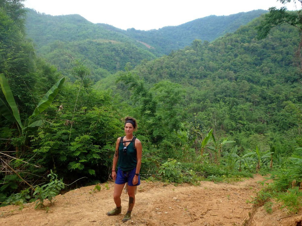 Bridget Burnquist in the jungles of Myanmar