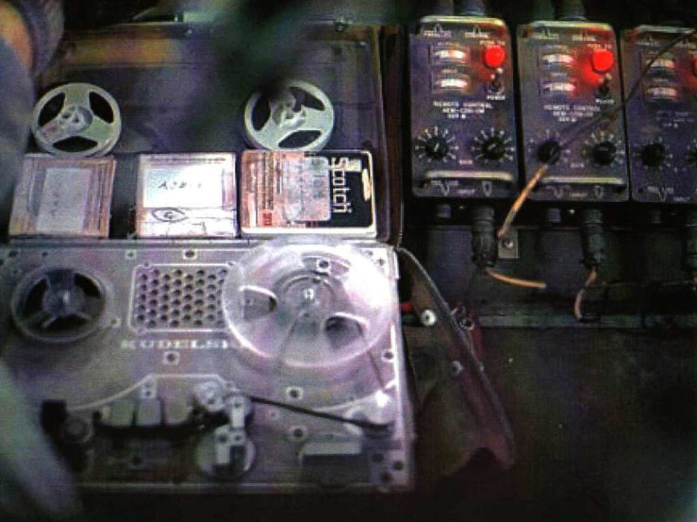 An aircraft-mounted tape player for use in PSYOP missions.  Image courtesy of  http://www.psywarrior.com