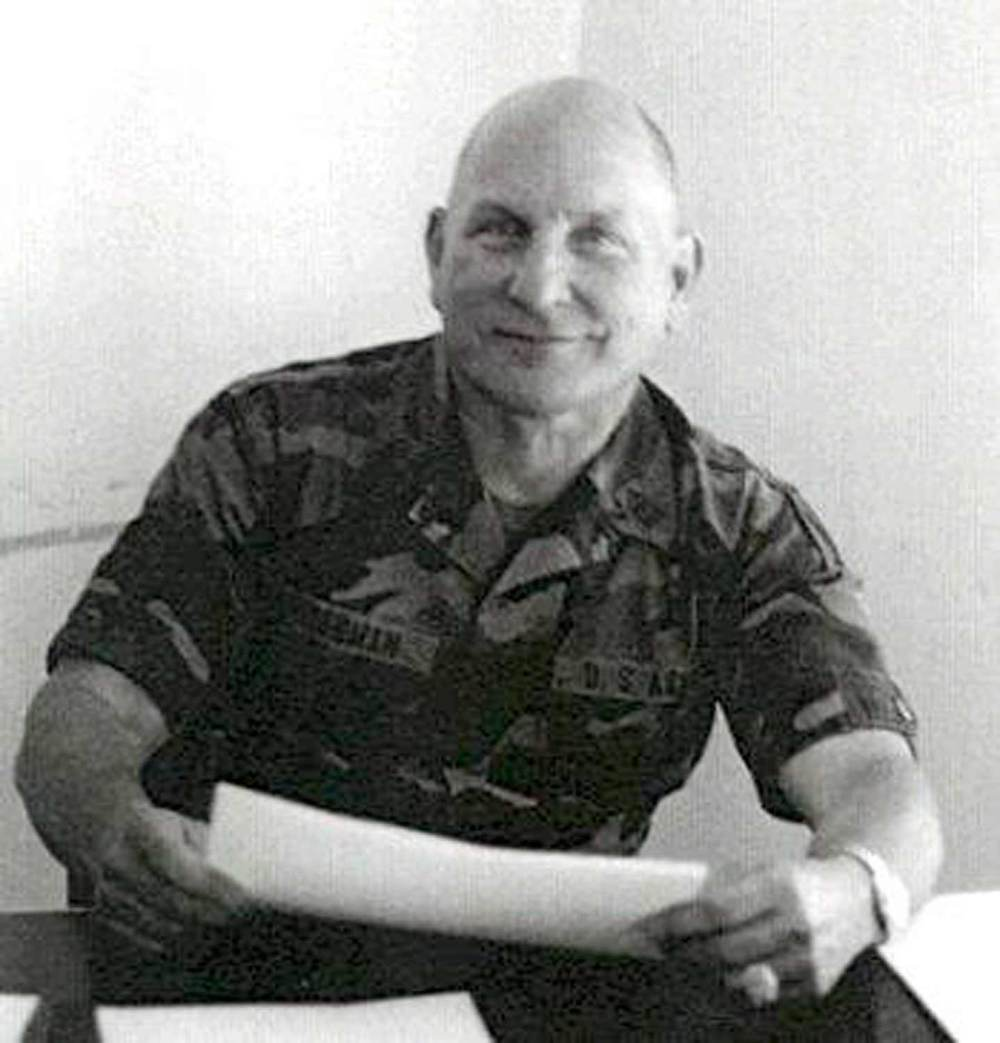 SGM Herb Friedman (ret.) during his military service. Image courtesy of  http://www.psywarrior.com