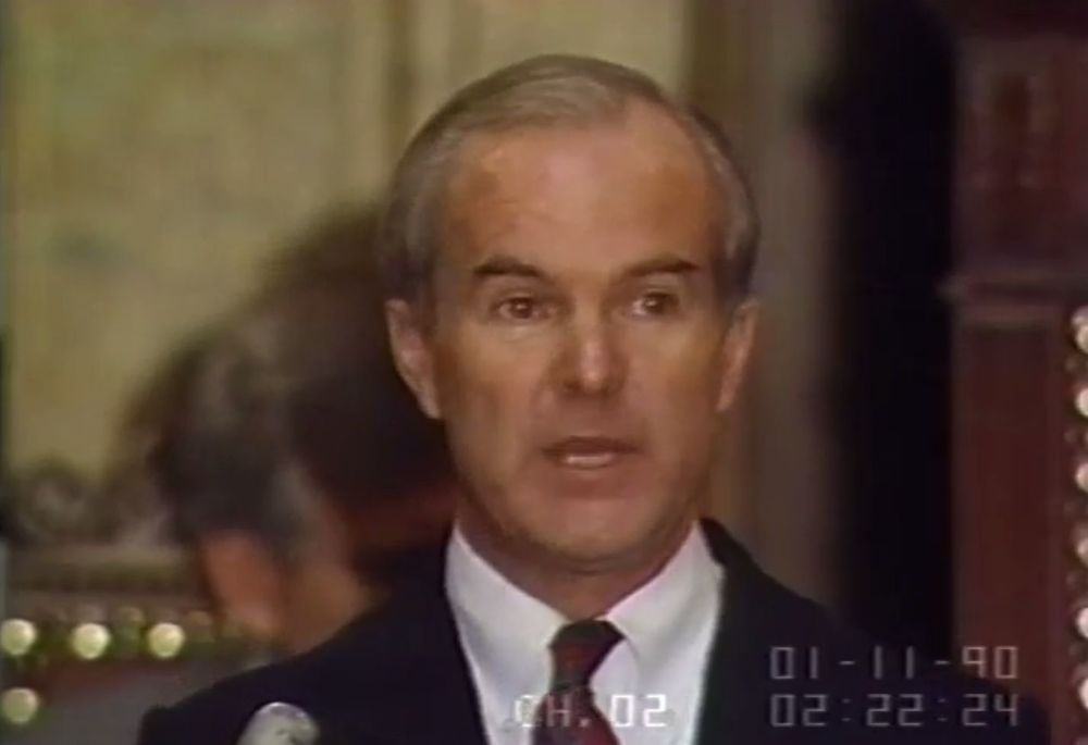 Booth Gardener, the former Governor of Washington State spoke highly of the Task Force on Community Protection during his 1990 State of the State Address.