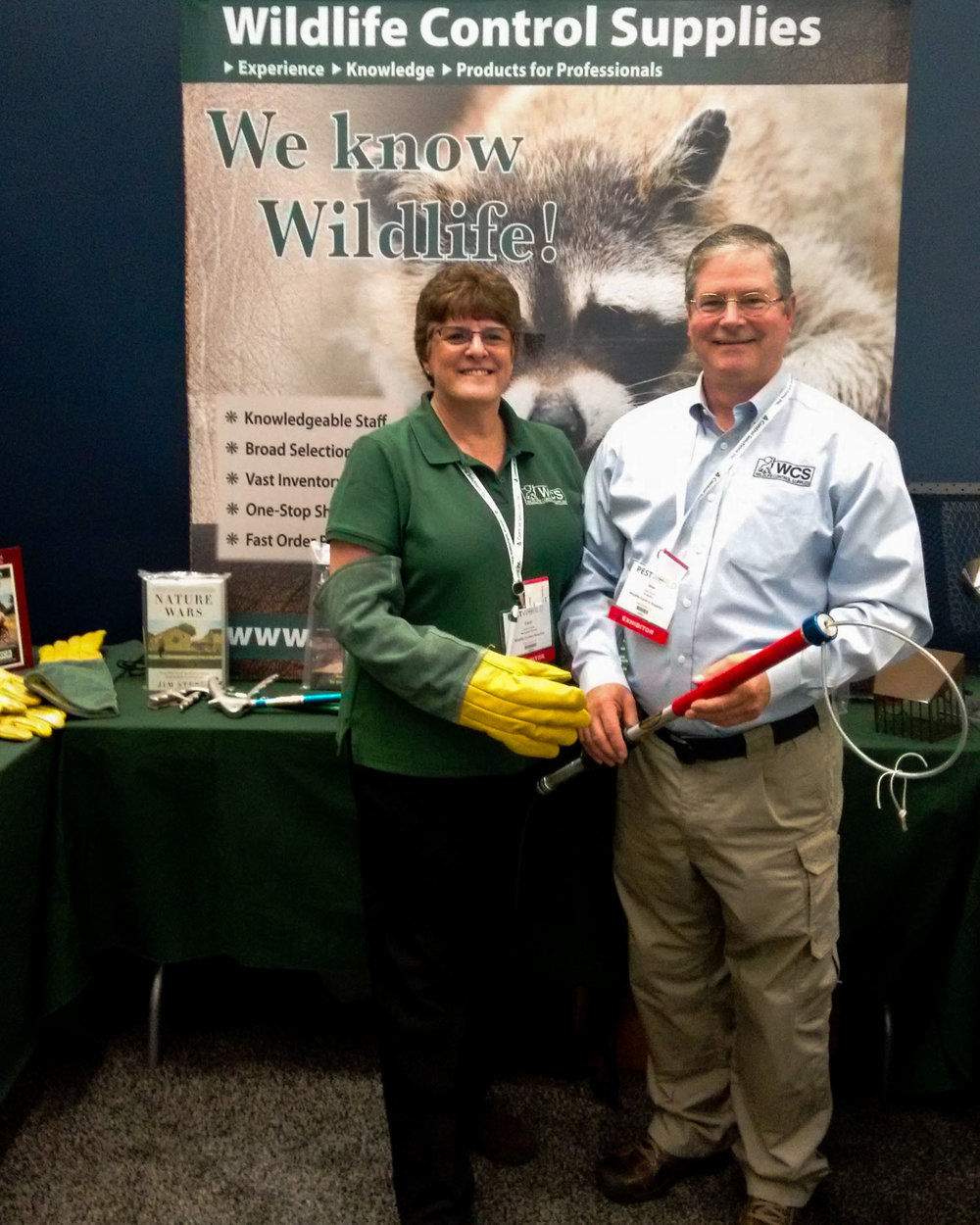 Carol Huot (right) and Alan Huot (left) / Wildlife Control Supplies