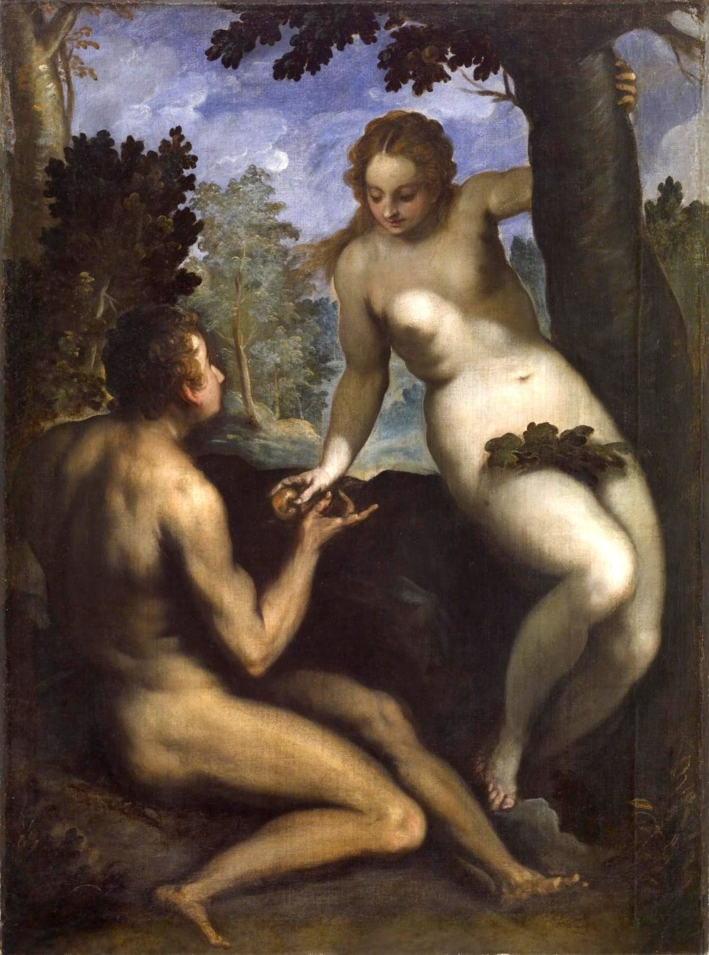 The Fall of Man, Pietro Mera, ca. 1571