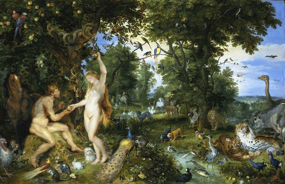Original Sin, Pieter Paul Rubens, 1615