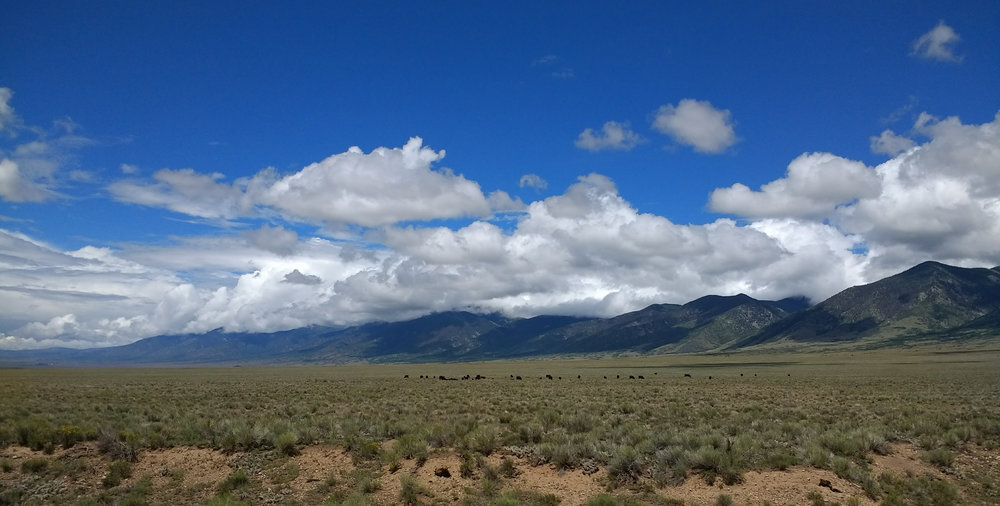 The San Luis Valley of Central Colorado