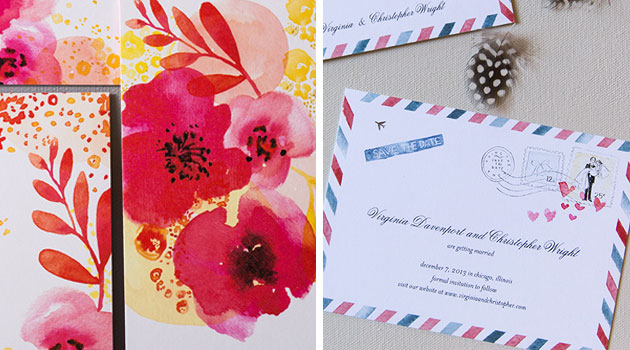 Wedding Diva Invitations: WEDDING PAPER DIVAS