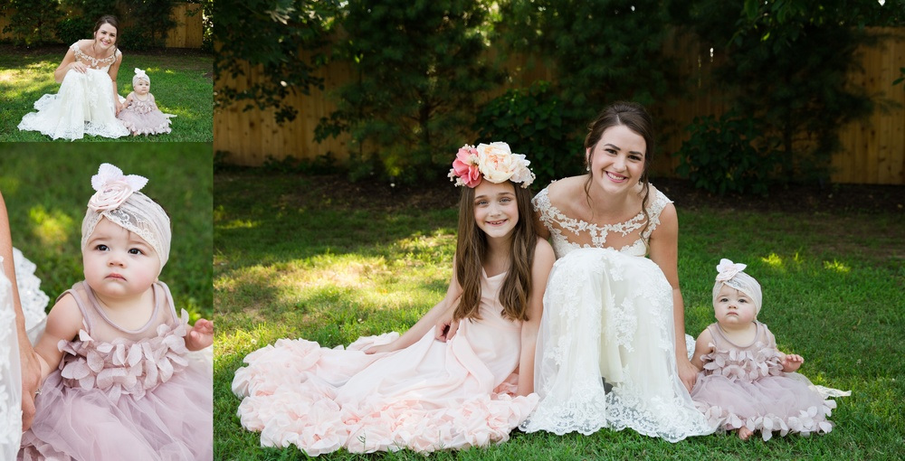 The cutest flower girls ever, Paxson Wedding
