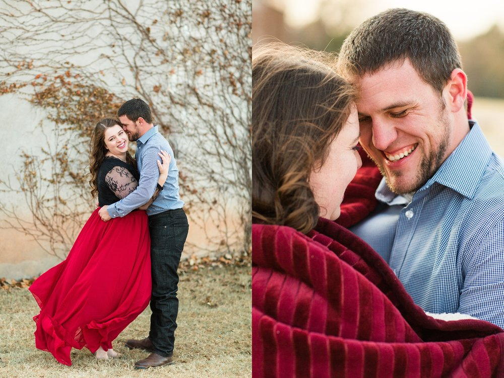 Fall Engagement Session Komorebi Photography Fine art weddings at The Baumberhof in Edmond, Oklahoma.
