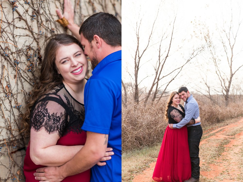 Engagement Photography at The Baumberhof in Edmond Oklahoma