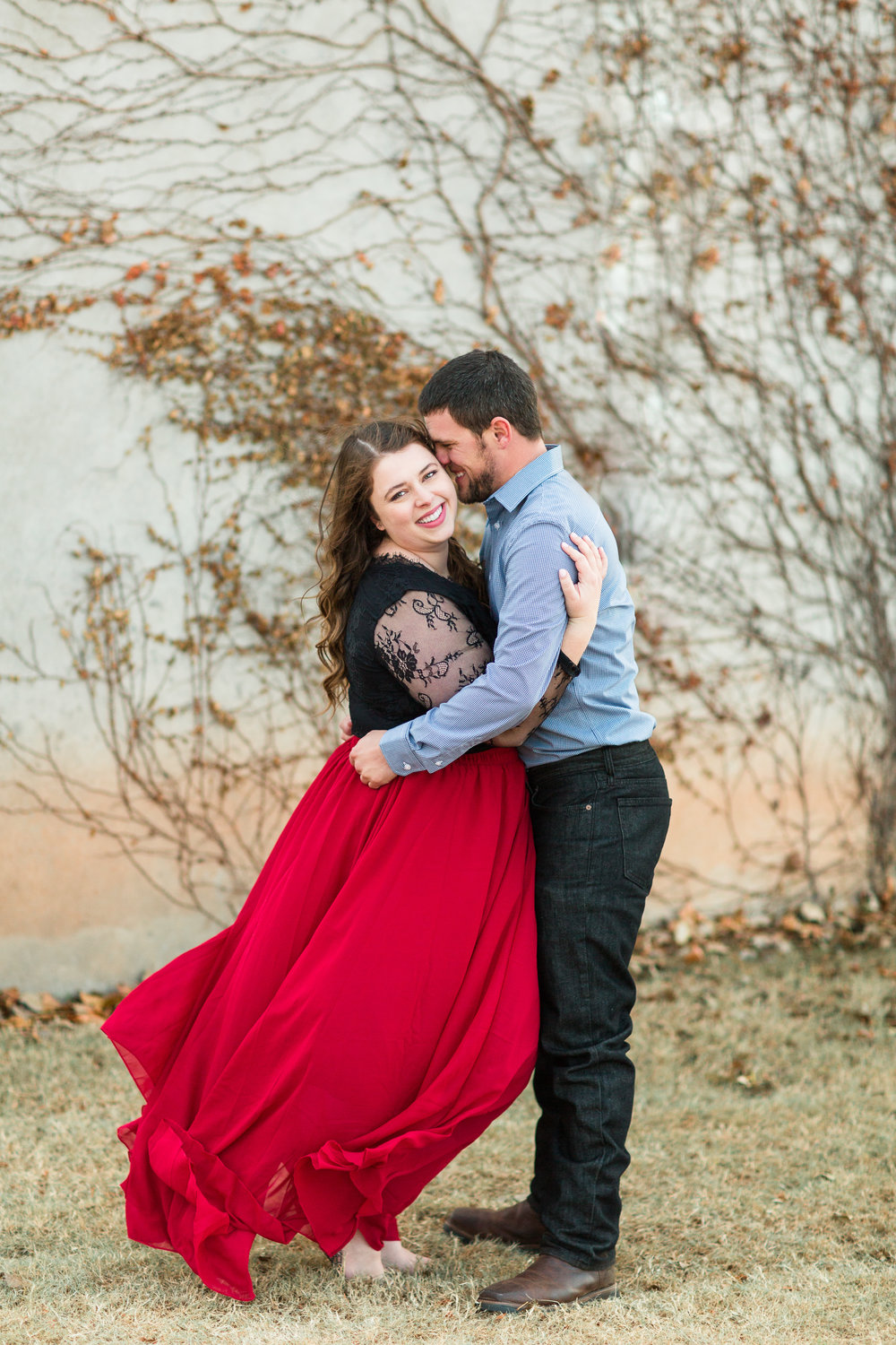 Flowy skirt Engagement Photos, The Baumberhof