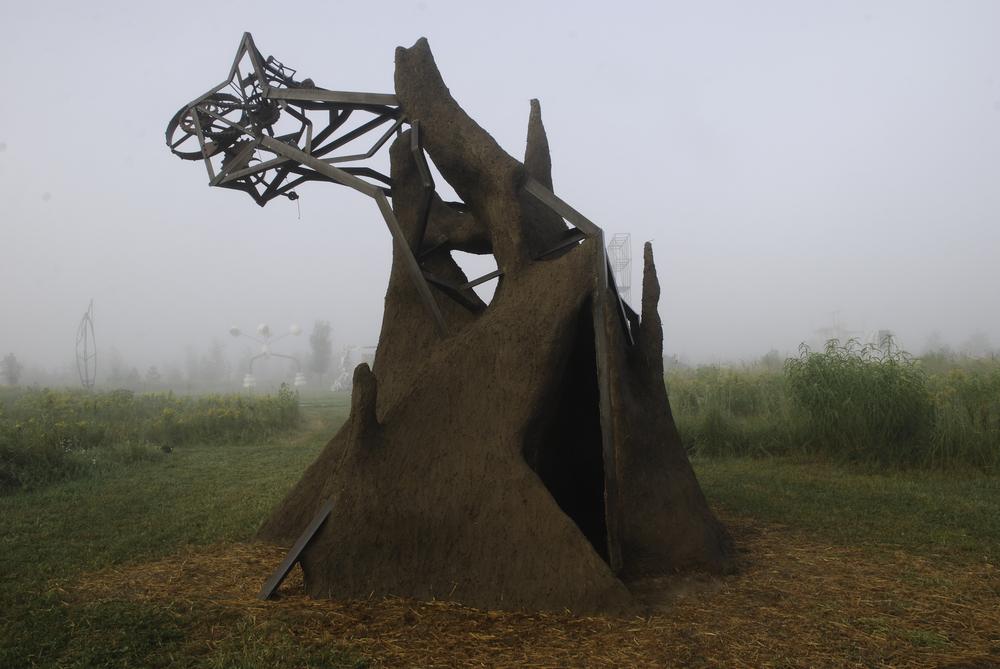 Earth sculpture franconia camera obscura