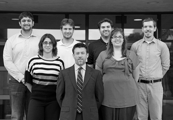 JWR and Grads 10-14-13BW small.jpg