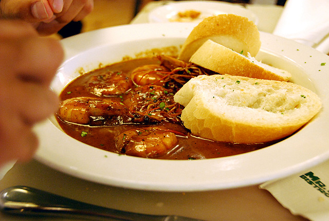 Mr. B's famous BBQ Shrimp
