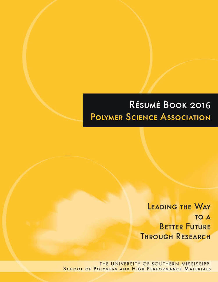 student resume book the waterborne symposium
