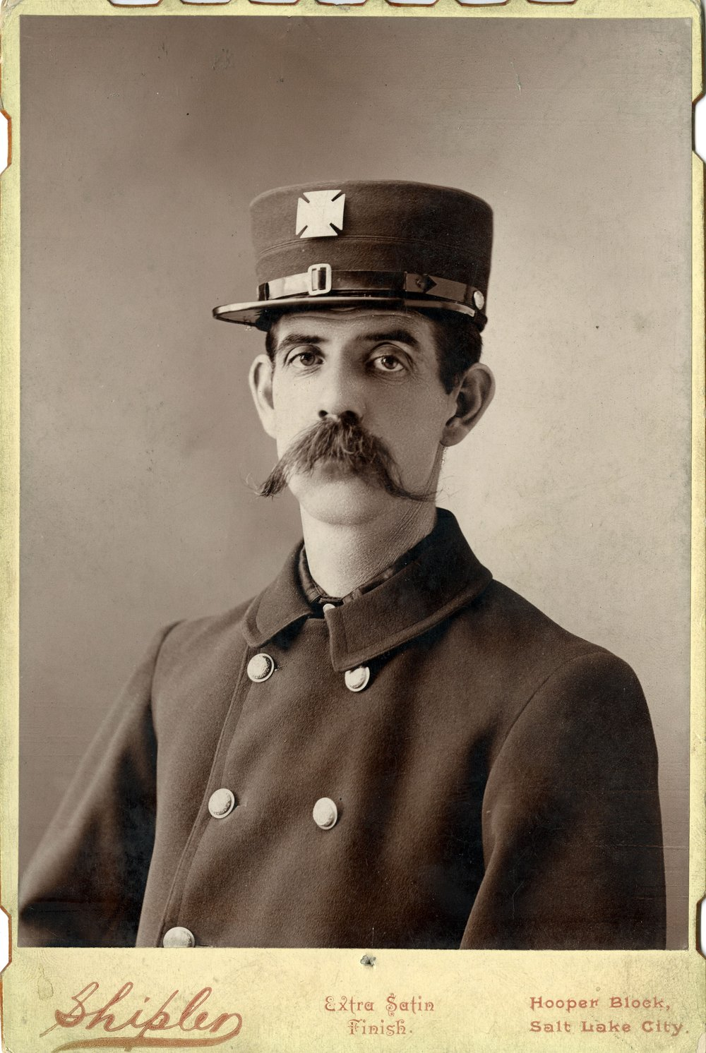 PORTRAIT OF W.S. HIGHAM (SERIES 23526). IMAGE COURTESY OF THE UTAH STATE ARCHIVES AND RECORDS SERVICE.