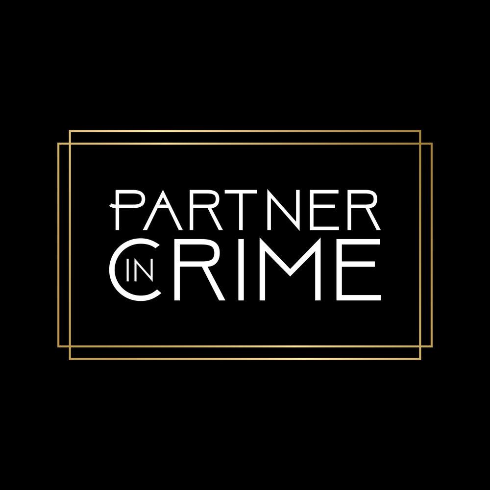 """""""Partner In Crime"""" Donor Program Logo"""