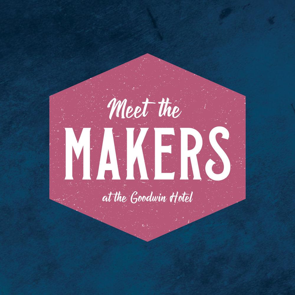 """Meet the Makers"" Salon Series Logo"