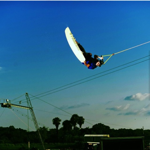 Tail Grab Front Flip #flips #fun #love #mywakeboard