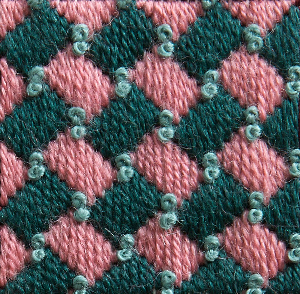 Stitch 32 - Diagonal Wide Plait