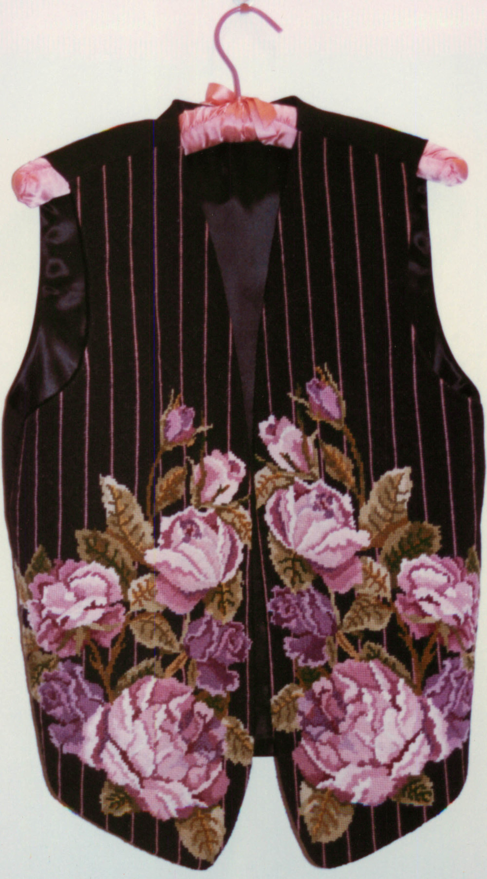 Cabbage Rose Vest