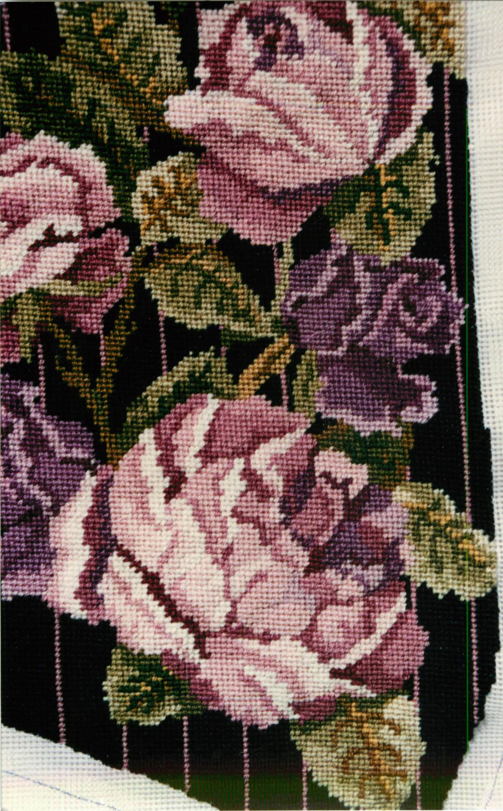 Cabbage Rose Vest