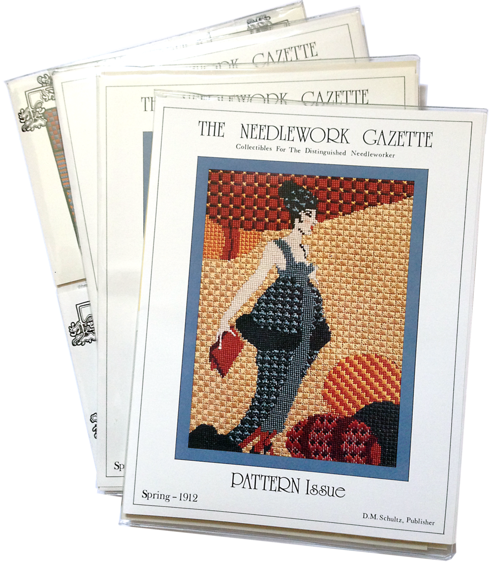The Needlework Gazette original kit.