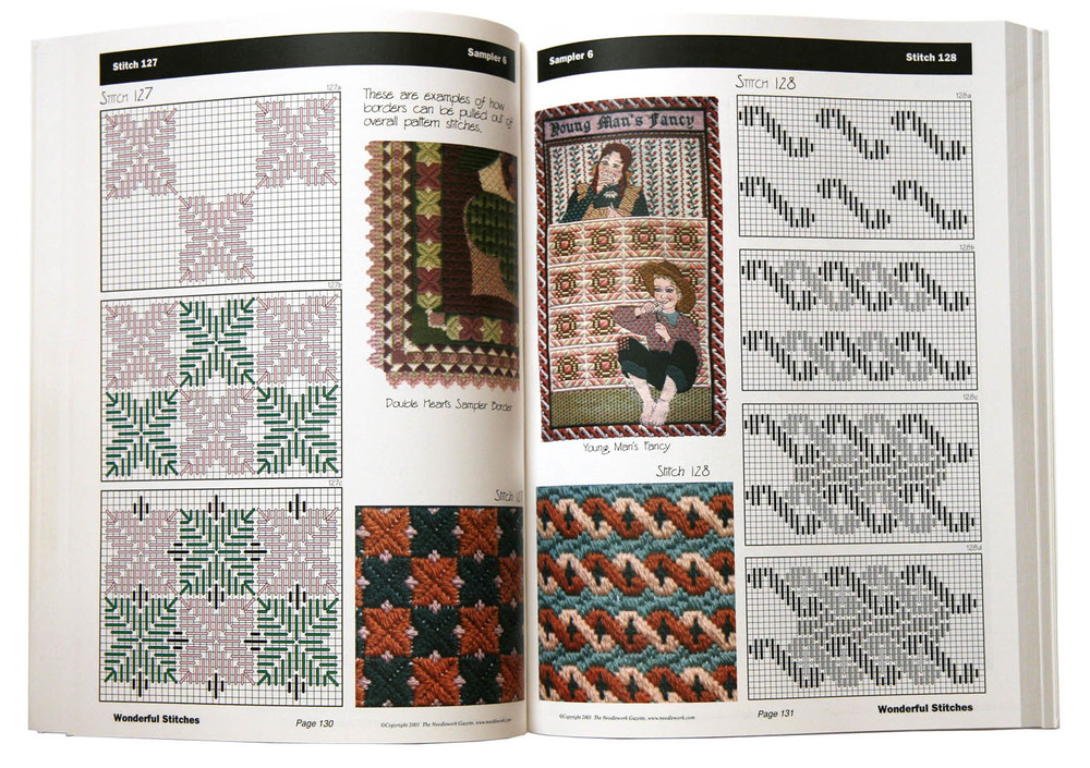 Wonderful Stitches Sample Page