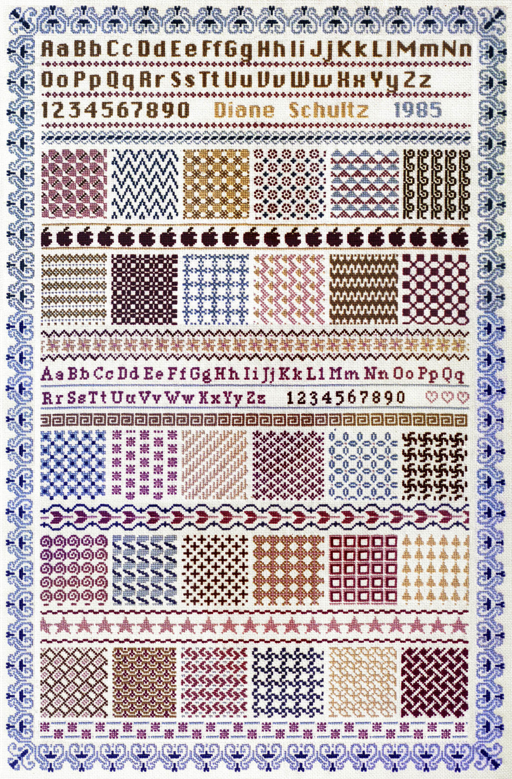 CyberSampler II Cross-Stitch Sampler