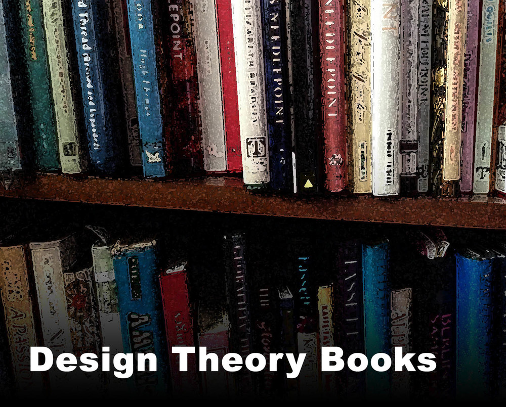 Repetitive pattern, geometric pattern, and color design and design theory books.