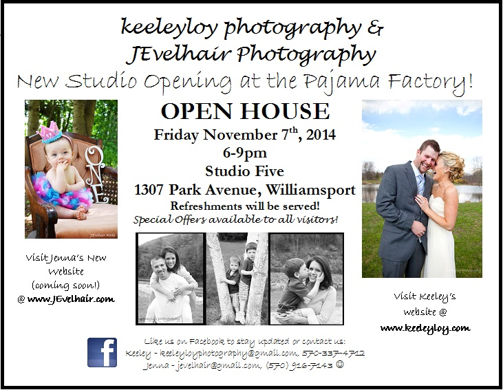 new studio open house