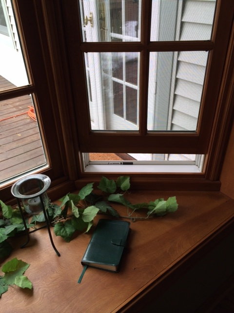 window open and I can hear the birds! ~Kathy E