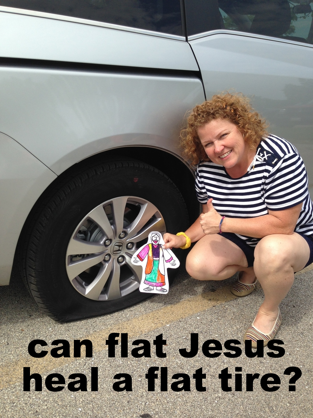 flat jesus and the flat tire.jpg