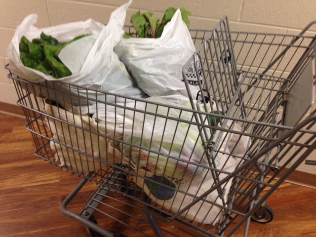 filled a shopping cart July 25!