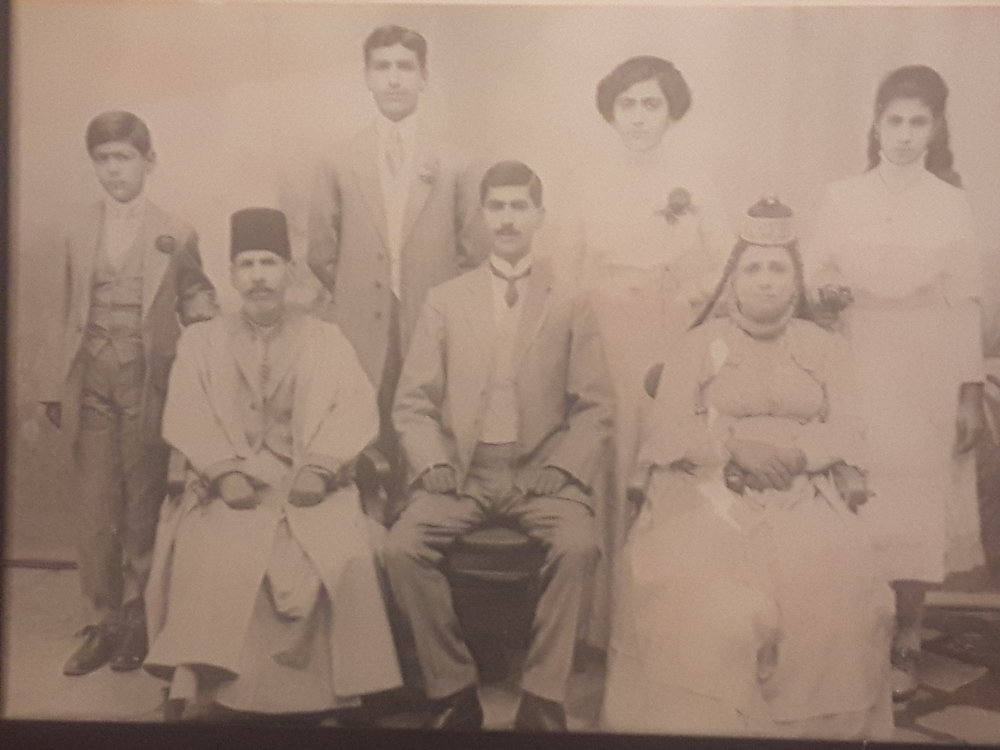 Naim's family, in Iraq