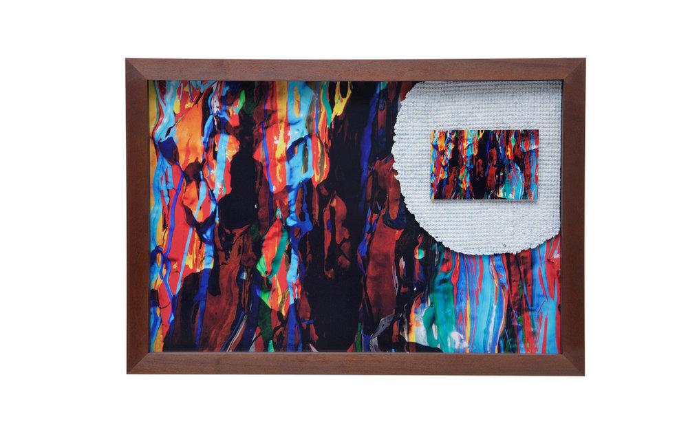 Peça única – Tamanho M – 90 x 60 cm – Com participação da artesã Carmen Lúcia Solheid