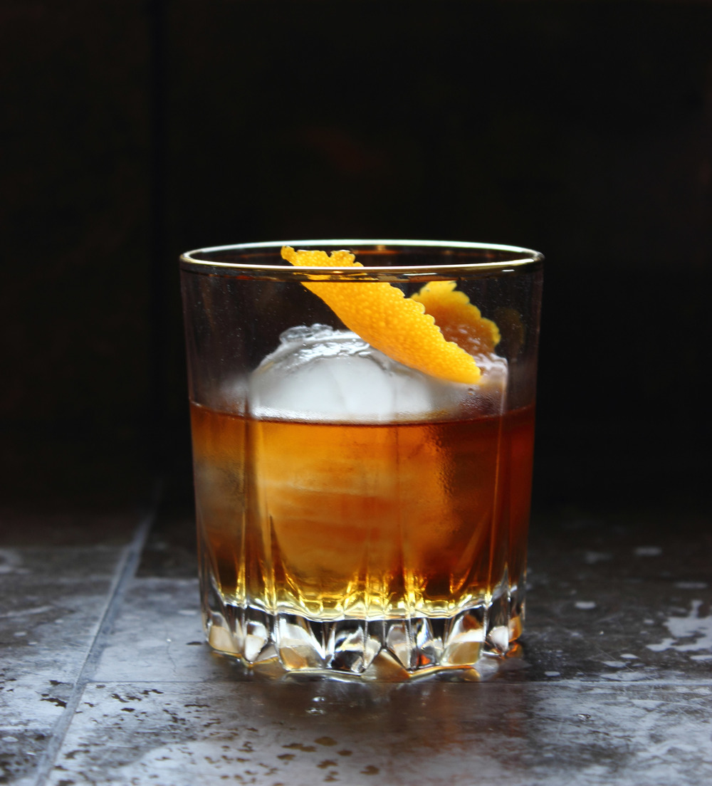 Classic Old Fashioned Recipe — Whiskey & Honey