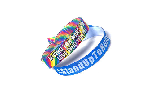 anti bullying acheter silicone colors bracelets two detail product custom cheap christian bracelet